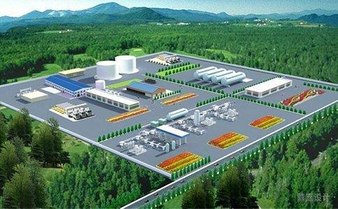工厂通天然气